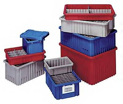 Grid Containers Plastic Storage Containers